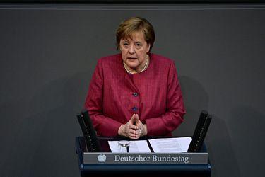 Angela Merkel recibió su primera dosis de vacuna AstraZeneca contra el Covid-19