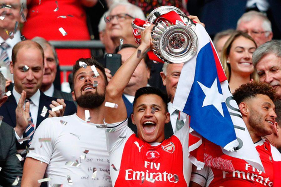 Alexis otra vez figura: Arsenal es campeón de la FA Cup - La Tercera