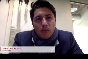 Paul Capdeville, en su paso por El diván del Kily, el programa de conversación de El Deportivo.