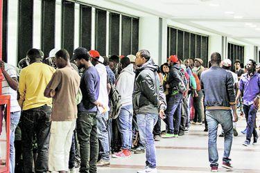 Imagen Inmigrantes Haitianos llegan a chile (41206254)