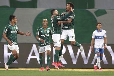 Adiós a la Copa Libertadores: a la UC ni siquiera le dio para asustar a Palmeiras