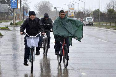 TALCA:Frente mal tiempo afecta a la Ciudad de Talca