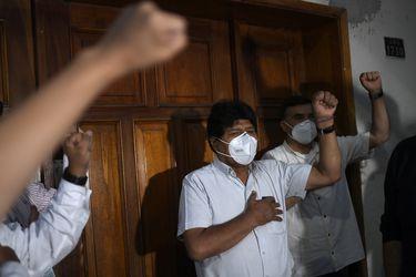 Informan que Evo Morales dio positivo a Covid-19