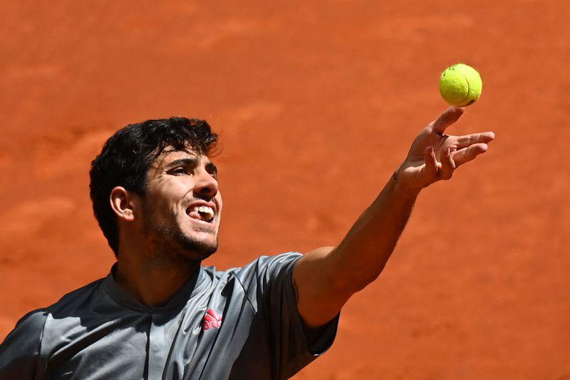 Chritian Garin valoró su victoria que le permitió avanzar a los cuartos de final del Masters 1000 de Madrid.