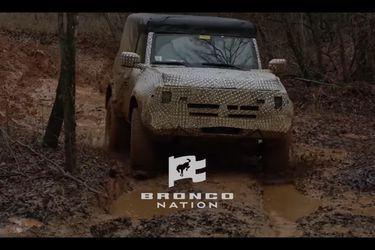 El Ford Bronco se deja ver en sus pruebas de desempeño previo al destape