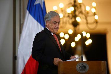 Piñera lamenta que diputados de oposición rechazaran gran parte de proyecto de protección al empleo