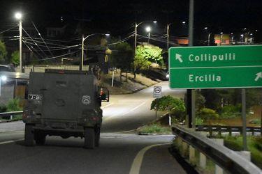 El plan de Carabineros y el Ejército para Macrozona Sur: 20 carros blindados, capacitación para 100 policías y convenio con Famae