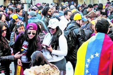 Uno de cada tres extranjeros en Chile es de nacionalidad venezolana