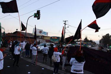 Se registran manifestaciones aisladas en Lo Espejo, Recoleta y San Ramón