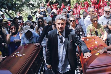 Emotivo adiós a Alejandro Sieveking y Bélgica Castro
