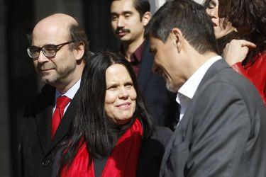 Integrantes de la lista B del Partido Socialista anuncian las nuevas medidas políticas de cara al Comité Central que elegirá a la nueva mesa