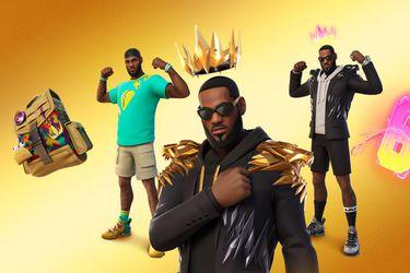 El Rey, LeBron James, llega a Fortnite