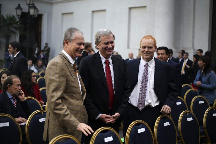 Presidente de la Republica participa de una nueva sesi—n de ÇDi‡logos en La MonedaÓ