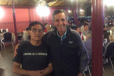 """Reencuentro: """"Súper Taldo"""" cena con Bernardo de la Maza tras 40 años"""