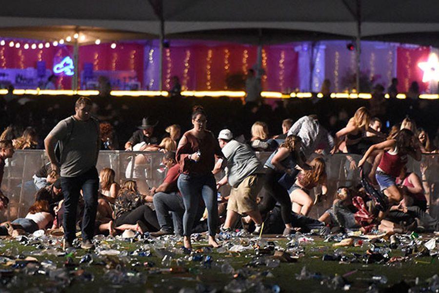 """Casa Blanca tras tiroteo en Las Vegas: """"No es momento"""" de debatir sobre el control de armas - La Tercera"""