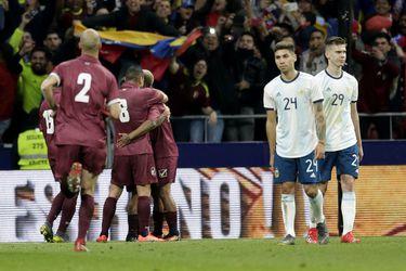 Spain Argentina Venezuela Soccer