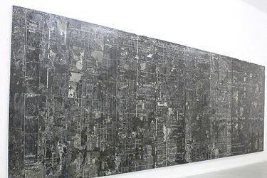 Nicolás Franco convierte en pintura archivo histórico sobre derechos humanos