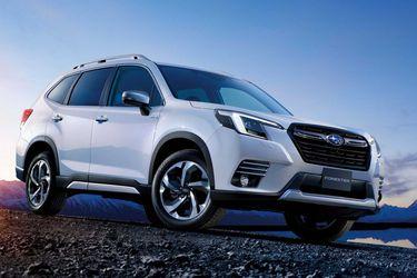 Subaru muestra la nueva cara del Forester