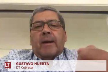 """Gustavo Huerta: """"Jadue llamó para decir que si no me echaban nos tiraría a los árbitros encima"""""""