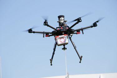 Realizan prueba de drones para el traslado de órganos