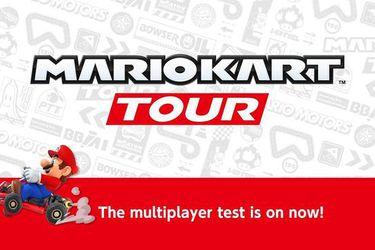 Mario Kart Tour: Inicia la beta del multijugador