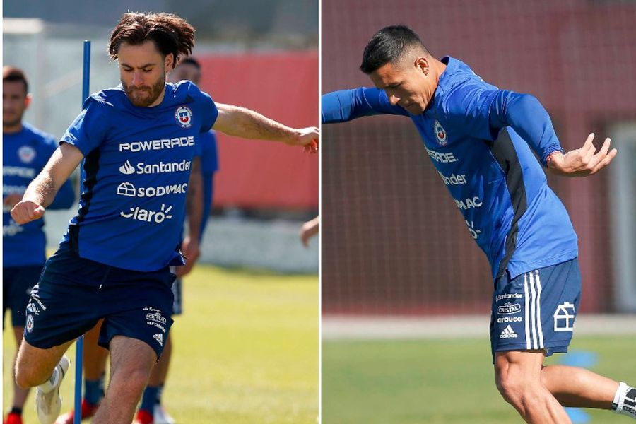 Brereton y Sánchez, las esperanzas de gol de la Roja.
