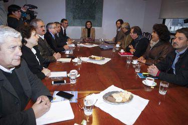 Reunión Mineduc y Colegio de Profesores