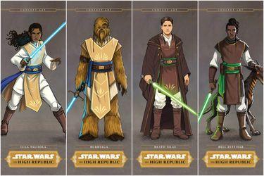 Star Wars: The High Republic presenta a sus Padawans