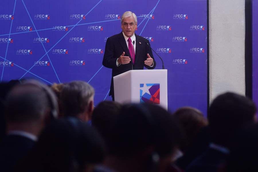 Presidente de la Republica encabeza el lanzamiento del año APEC Chile 2019