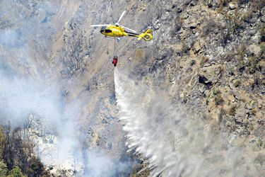 """Damnificado de incendio en El Canelo: """"Tratar de salvar algo material era una locura"""""""