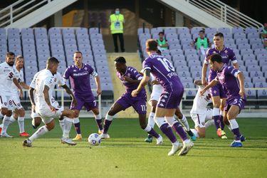 La Fiorentina comenzó ganando en la Serie A