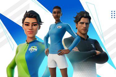 Fortnite ahora tendrá atuendos inspirados en equipos de fútbol