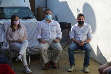 Desbordes inicia despliegue de campaña con apoyo a timonel del PRI en candidatura a alcaldía de Conchalí