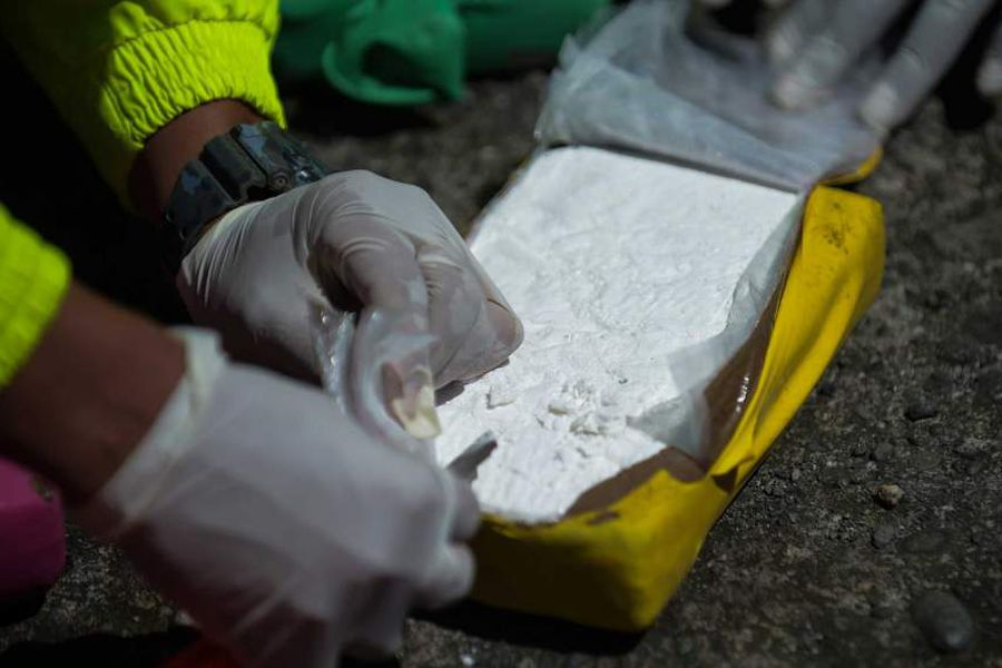 COLOMBIA-DRUGS-SEIZURE-GULF CLAN