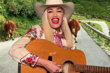 Gwen Stefani recrea sus clásicos en clave country