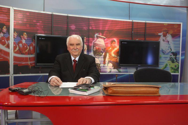 Sergio Livingstone, uno de los jugadores que pasó del fútbol a la televisión.