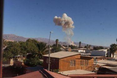 Fuerte explosión se registra en planta de ácido Enaex en Calama: intendente de Antofagasta asegura que no habría personas fallecidas