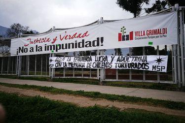 Villa Grimaldi evalúa acciones legales tras agresión de Movimiento Social Patriota