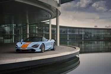 En McLaren se visten con los colores celeste y naranja de Gulf