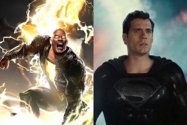 """""""Sabemos que los fanáticos lo quieren"""": Productor habló sobre una posible batalla entre el Black Adam Dwayne Johnson y el Superman de Henry Cavill"""
