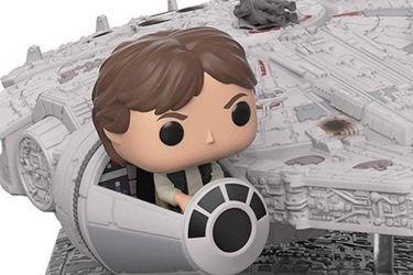 Han Solo y el Millennium Falcon no se separan en este nuevo Funko Pop