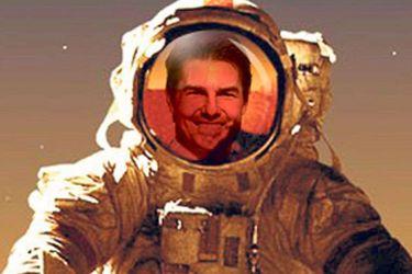 El chiste se vuelve real: Tom Cruise hará equipo con Elon Musk para filmar la primera película en el espacio