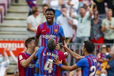 Goleada revitalizadora: Barcelona recupera la memoria y a Ansu Fati frente al Levante