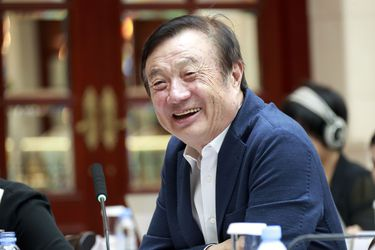 """Ren Zhengfei: """"No vamos a excluir a nuestros socios en Estados Unidos ni vamos a buscar el crecimiento solos. Vamos a crecer juntos"""""""
