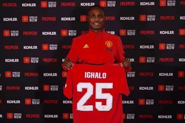 Ighalo en Manchester United