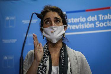"""""""Tenemos la misión de crear un millón de empleos"""": Zaldívar destaca mejoría en datos de empleo del Gran Santiago"""