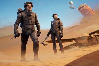 Fortnite tendrá una colaboración con Dune según reciente filtración