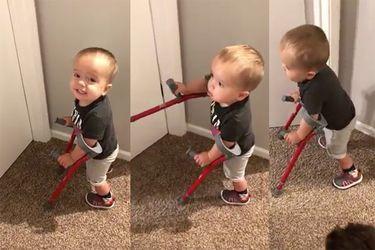 El ejemplo de superación de un niño de dos años que conmueve al mundo