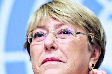 La expresidenta Michelle Bachelet Jeria.