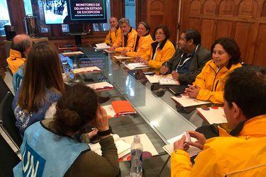 INDH se reunió con misión de la ONU enviada por la Alta Comisionada Michelle Bachelet
